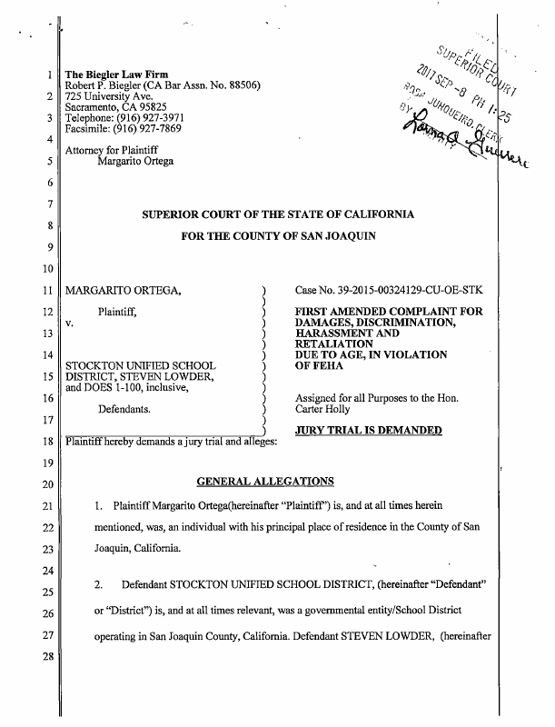 Aiding and abetting california complaint out now with aaron and abetting